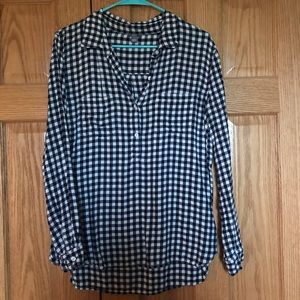 Aerie Gingham Button Up